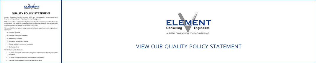 Element Consulting Engineers - Quality Policy Statement